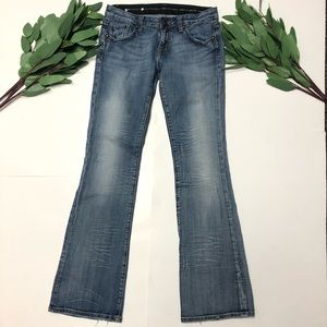 ReRock By Express || Boot Cut Light Denim Jeans